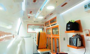 Toyota Hiace Ambulance COVID Baze