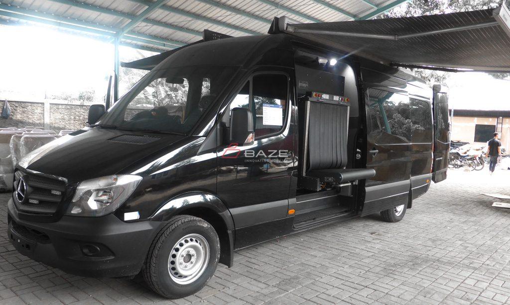 Merces Benz Sprinter Mobile X Ray Angkasa Pura