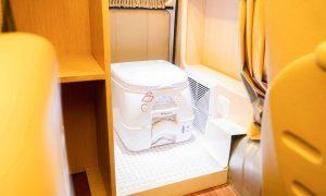 Toyota Hiace Premio Portable Toilet